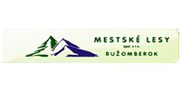 Mestské lesy Ružomberok - hlavný partner MBK